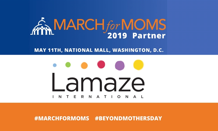 Join Lamaze International at March for Moms Events Next Weekend