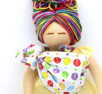 Teach Children About Pregnancy, Birth, and Breastfeeding with Lamaze Doll by MamAmor Dolls