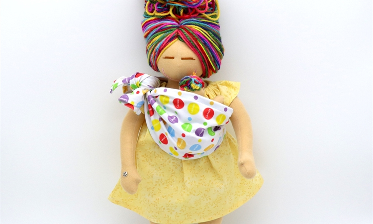 MamAmor Designs Specially Branded Lamaze Doll for Educators