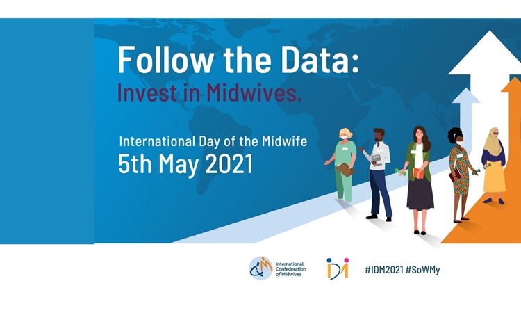 International Day of the Midwife 2021 - Follow the Data: Invest in Midwives