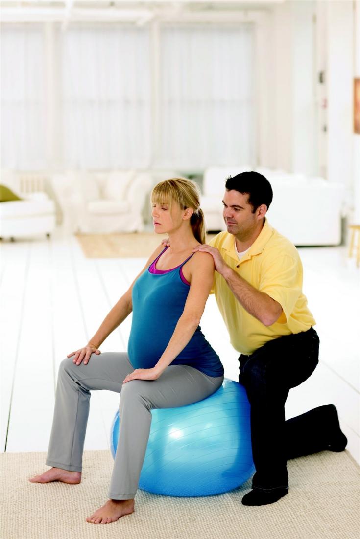 How To Use A Yoga Ball During Labor